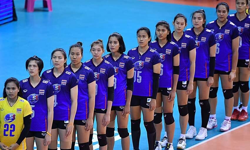 วอลเลย์บอลหญิงทีมชาติไทย รายชื่อนักวอลเลย์บอลหญิงทีมชาติไทย 2020