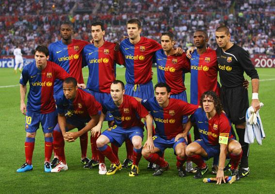 ทีมฟุตบอลที่ดีที่สุดในโลก