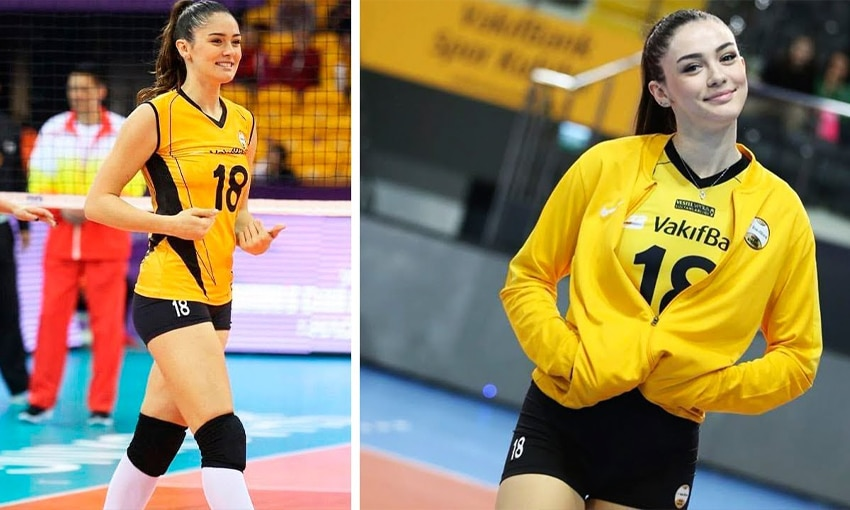 นักวอลเลย์บอล เซรา กันน์ (Zehra Gunes)