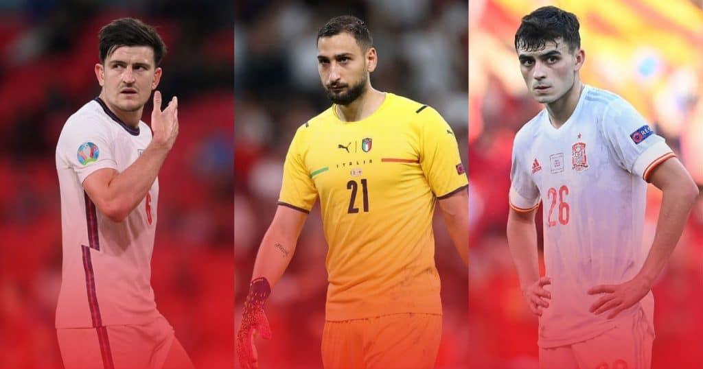 ทีมยอดเยี่ยมประจำศึกยูโร 2020